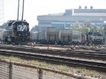 NS 3273 and other power working Pomona Yard