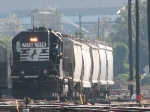 NS 7078 working Pomona Yard