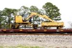 NMC CMCE312E Magnetic Crane BNSF X6000347, BNSF 87000100 Cart