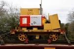 Budde Plate Cart BE PC 10000 - BNSF J0400819