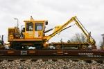 L & H Tie Crane & Cart - BNSF X6000294 / J0400797
