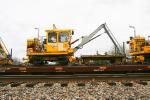 L & H Tie Crane & Tie Cart - BNSF X6000303 / J0400694