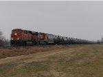 BNSF ES44DC 7566