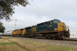CSX 300 leads the MPBBW-17 south