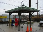 Bike/Bus stop shelter