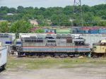 Amtrak F40PHR 258