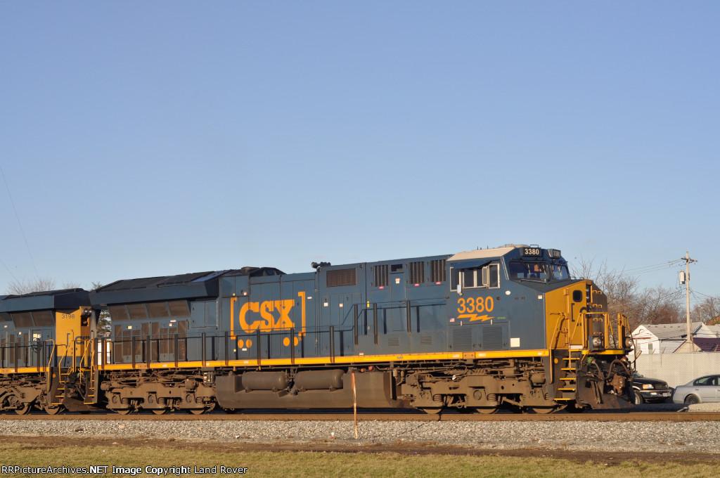 CSXT 3380 East