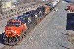 CN 3009 On NS 174 Westbound