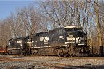 NS 8332 ExCon On NS 177 Eastbound