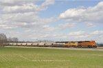 BNSF 5533 On NS 50 N Eastbound