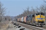 UP 8646 On CSX Q 351 Southbound At Wayne Yard