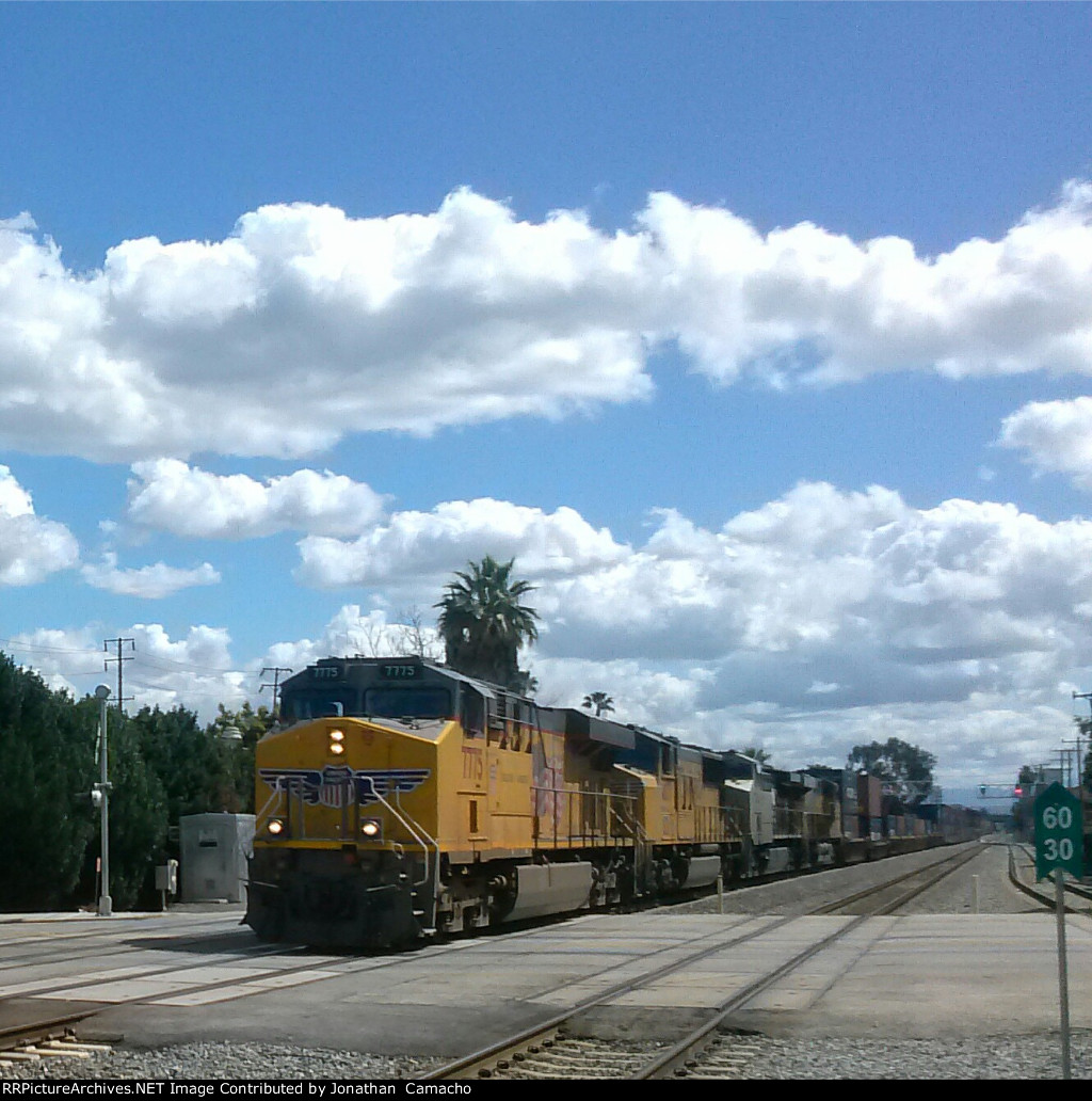 UP 7775 leads UP ISCLB