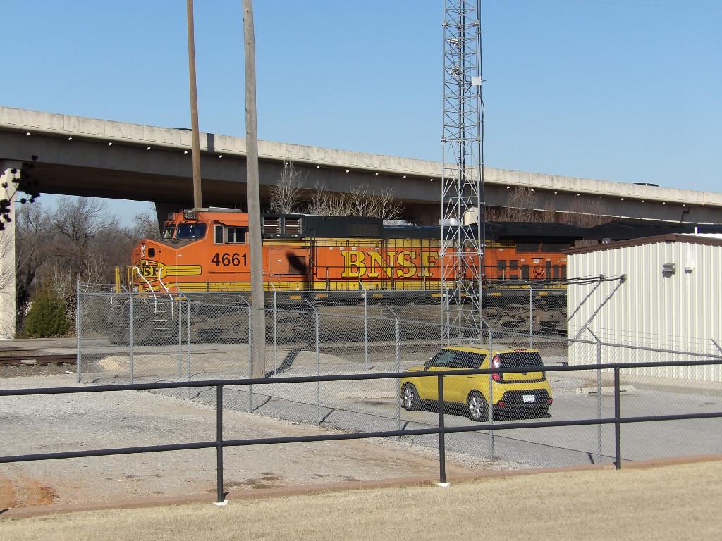 BNSF C44-9W 4661