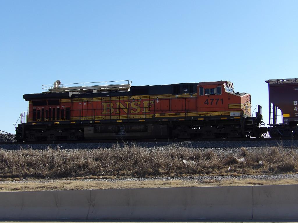 BNSF C44-9W 4771