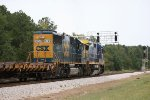 High green for CSX C40-8 7632 and SD50-2 8636