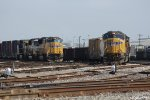 UP Trains Working Englewood Yard
