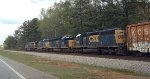 CSX 301, 5427, 8853, and 8388 slow for yellow