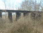 Creek Trestle along Clarksburg Road