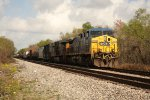 CSX Train sitting at Old Gentilly Road