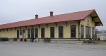 ATSF depot Davis, OK