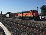 BNSF switching