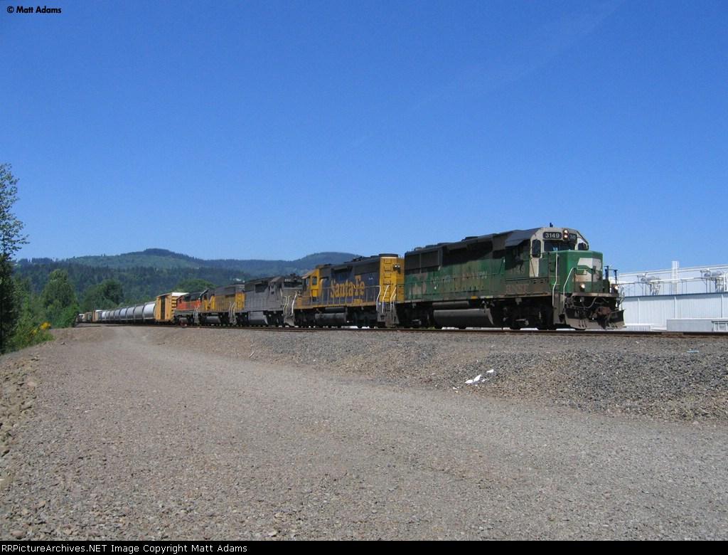 BNSF 3149 South
