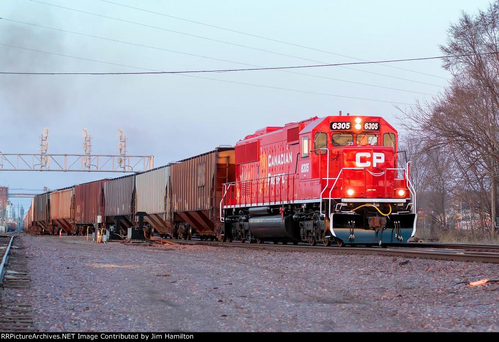 CP 6305 North