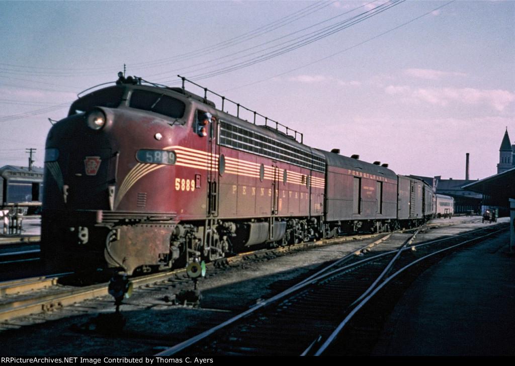 PRR 5889, EP-22, 1960