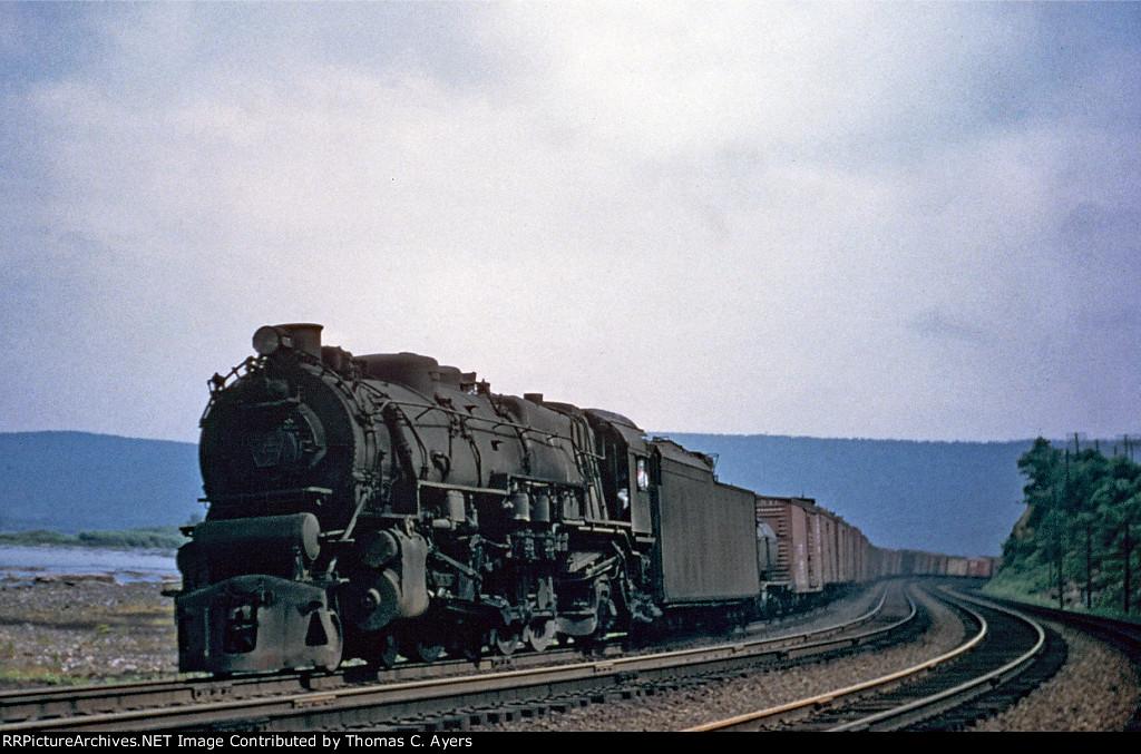 PRR 6727, M-1A, 1955