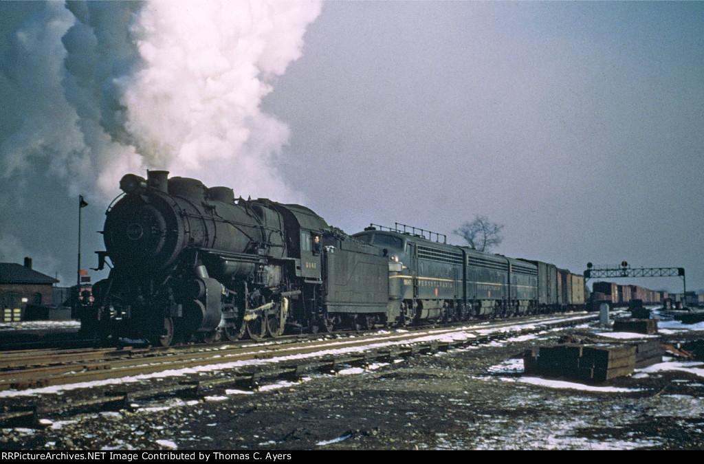 PRR 8949, H-10S, 1949