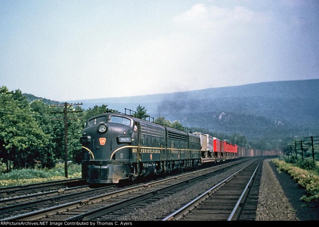 PRR 9875, EF-15A, 1955