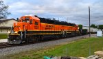 BNSF 1520 and 2660