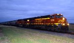 BNSF 8206 and 6270