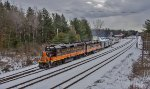 The Snow Train departs Saratoga Springs Amtrak station