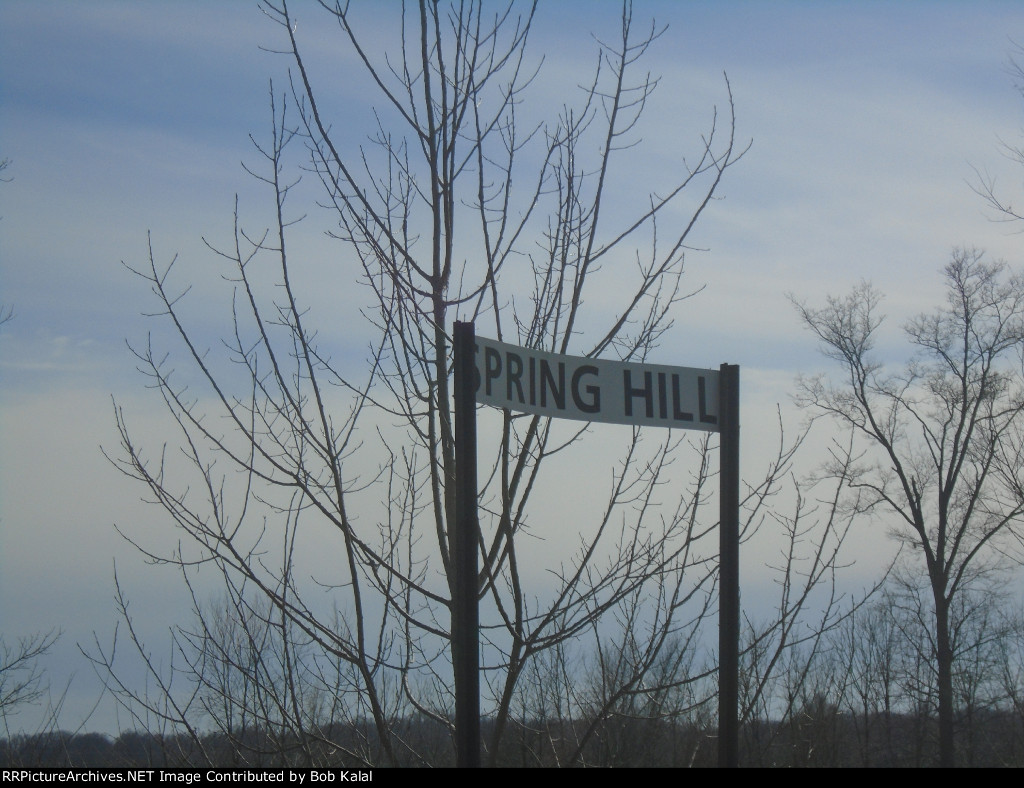 Springhill Diamond sign