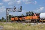 BNSF 8109 at Interstate Jct