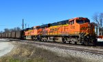 BNSF 6282 and 9336