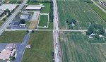 Terra Haute Maple Street Crossing Aerial