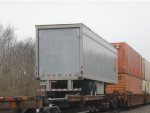 lone UPS trailer