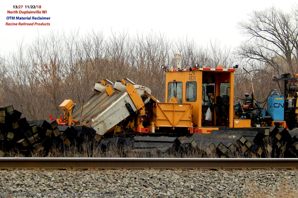 Racine RR Products OTM Material Reclaimer