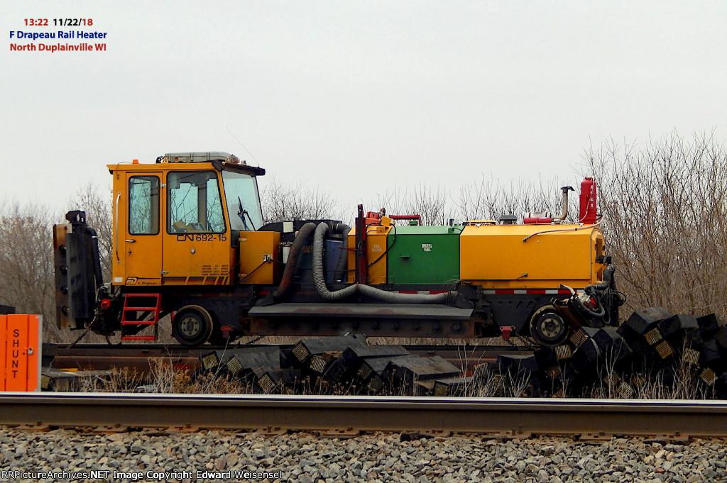 F.Drapeau rail heater