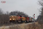 A447 with PETE power splits the SB signals at Ackerville East.