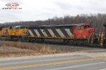 O490 ballast train