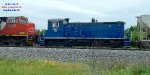 A491 has a setout for track 104 - and a blue Sw1000 headed to Point and beyond