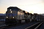 Westbound stack train at first light