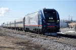 """Hiawatha Service"" races north to station stop"