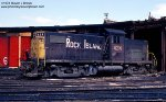 Rock Island Alco C-415 424 at the Blue Island Roundhouse - March 19, 1978.