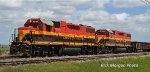 KCS GP38-2s near Robstown