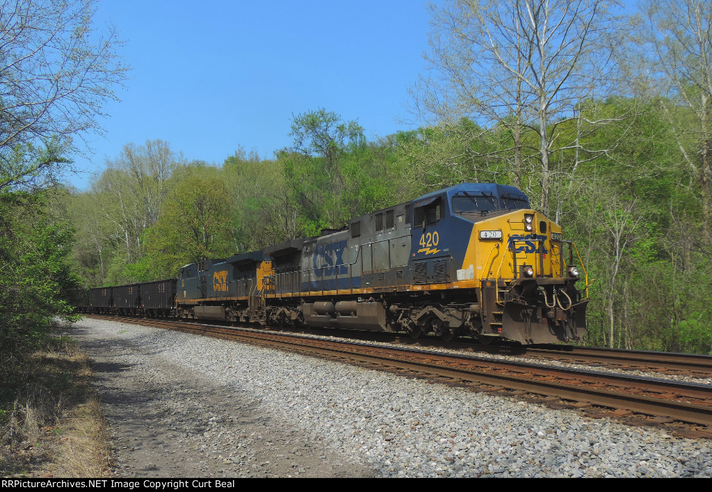 CSX 420 and 83