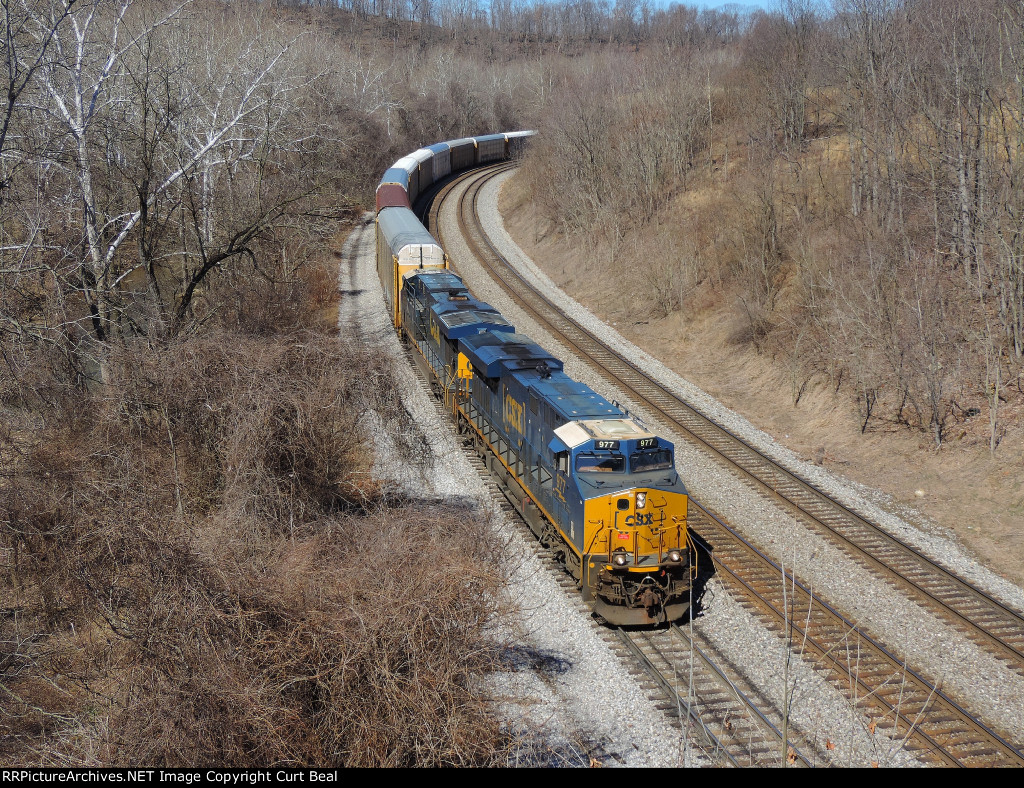 CSX 977 and 5277